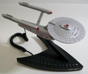 Star Trek USS Enterprise NCC-1701 Telephone Lazerbuilt 2007