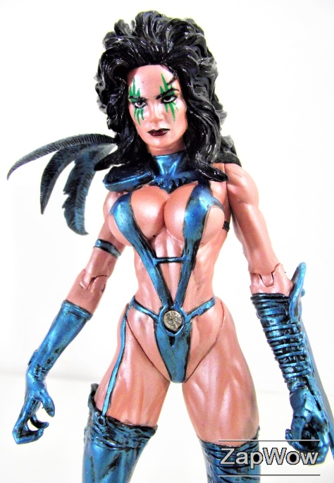 "Signed Limited Edition JULIE STRAIN 2000 F.A.K.K. 2 Wizard World 6"" Action Figure"